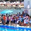 Kınalıada Sporcuları 2011 Adalar kaymakamlık yarışlarında ödüllerini aldı -- Yarışmalarda 4 Altın 3 Gümüş Madalya alan Beste Doğa Kodaz ve Kınalı ada yüzücülerini toplu Fotografta kutluyoruz