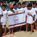 ekibin tümü yarışmadan önce  -- Doğa Sena Sude zeynep  Cansu muratcan derin berkay metincan  yarıştan önce seramonideler