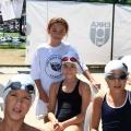 derin-doga-seda-zeynep -- Başarılı Yarışçılar Derin, Seda Zeynep be Beste Doğa Kodaz yarış arası dinlenmede